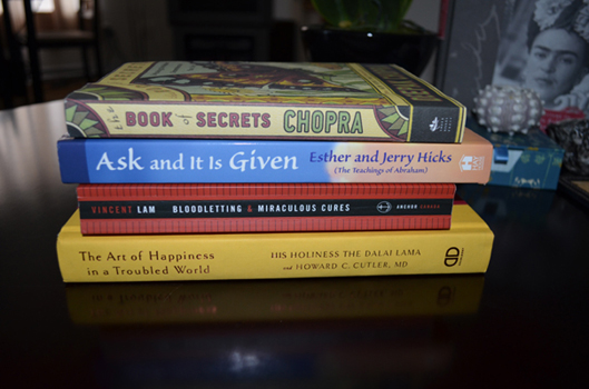 Example Two Book Spine Poetry (June 2012)