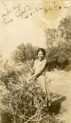 My maternal grandmother Sophie Guider in Kohat (Pakistan), 1932.